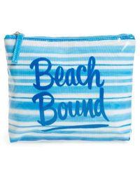 Ki-ele - Beach Bound Print Pouch - Lyst