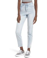 Obey - Sundays High Waist Slim Ankle Jeans - Lyst