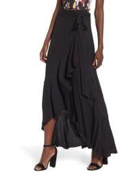 ARRIVE - Amelia Ruffle Wrap Skirt - Lyst