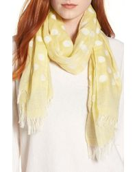 Eileen Fisher - Clip Dot Scarf - Lyst