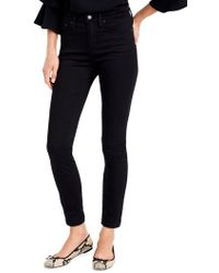 J.Crew | J.crew Toothpick High Rise Jeans | Lyst