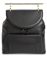 M2malletier - Calfskin Leather Backpack - Lyst