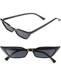 Glance Eyewear - 52mm Cat Eye Sunglasses - - Lyst