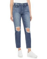 Joe's - Smith Ripped High Waist Ankle Jeans - Lyst