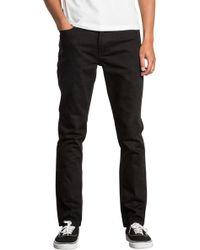 RVCA - Hexed Slim Jeans - Lyst