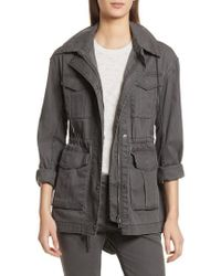 ATM - Enzyme Washed Field Jacket - Lyst