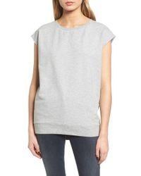 Trouvé - Cap Sleeve Sweatshirt - Lyst