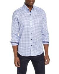 Robert Graham - Axton Tailored Fit Check Sport Shirt - Lyst