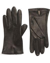 Nordstrom - Lambskin Leather Gloves - Lyst