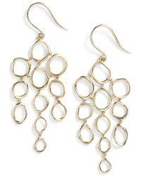 Bony Levy - Geo Circle Chandelier Earrings (nordstrom Exclusive) - Lyst