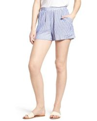 BISHOP AND YOUNG - Bishop + Young Stripe Shorts - Lyst