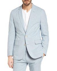 J.Crew - Ludlow Houndstooth Cotton & Linen Sport Coat - Lyst