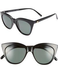 Le Specs - Halfmoon Magic 52mm Polarized Sunglasses - Lyst