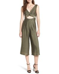 4si3nna - Cutout Stripe Jumpsuit - Lyst