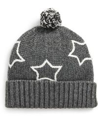 e9bdea52a04 Lyst - J.Crew Jasper Pompom-embellished Chunky-knit Beanie