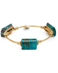 Bourbon and Boweties - Small Stone Bracelet - Lyst