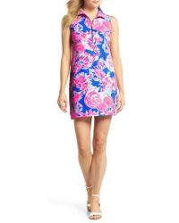 Lilly Pulitzer - Lilly Pulitzer Skipper Floral Shift Dress - Lyst