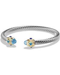 David Yurman - Renaissance Bracelet With Amethyst And Gold - Lyst