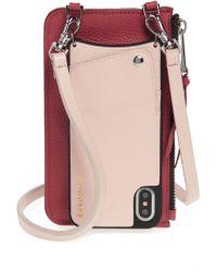 Bandolier - Emma Leather Iphone X/xs Crossbody Case - - Lyst