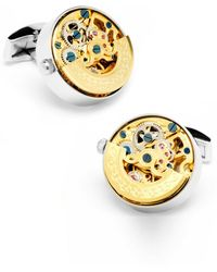 Ox and Bull Trading Co. - Watch Movement Cuff Links - Lyst