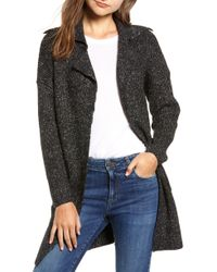 Dreamers By Debut - Sweater Coat - Lyst