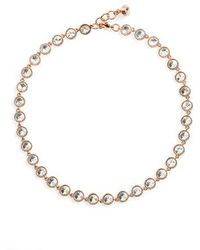 Ted Baker - 'rosele' Crystal Collar Necklace - Lyst