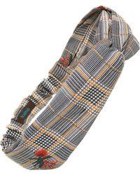 Tasha - Patterned Twist Head Wrap - Lyst