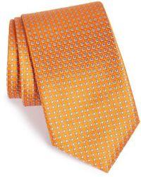 John W. Nordstrom - John W. Nordstrom 'beckham' Check Silk Tie - Lyst