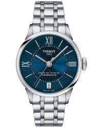 Tissot - Chemin Des Tourelles Automatic Bracelet Watch - Lyst