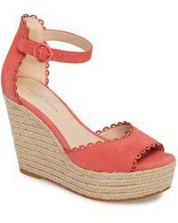 Pelle Moda | Raine Platform Espadrille Sandal | Lyst