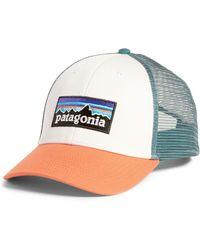 3e2b952e5cb9c Lyst - Patagonia Duckbill Trucker Hat in Black