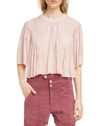 Étoile Isabel Marant - Algar Embroidered Top - Lyst
