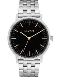 Nixon - The Porter Bracelet Watch - Lyst