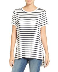 Amour Vert - Paola High/low Tee - Lyst
