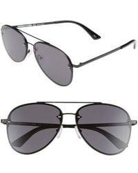 McQ - 59mm Aviator Sunglasses - Lyst