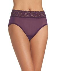 Hanky Panky - Mesh French Briefs - Lyst