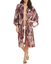 Free People - If You Say So Long Wrap - Lyst