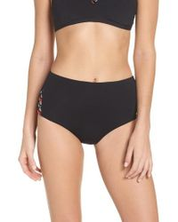 Seafolly - Desert Tribe High Waist Bikini Bottoms - Lyst