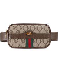 Gucci - Ophidia Gg Supreme Small Canvas Belt Bag - - Lyst