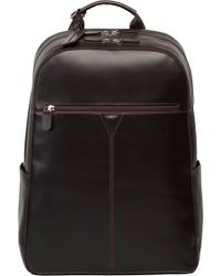 Johnston & Murphy - Leather Backpack - - Lyst