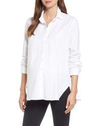 HATCH - Classic White Shirt - Lyst