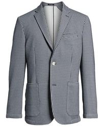 Vince Camuto - Slim Fit Stretch Houndstooth Sport Coat - Lyst