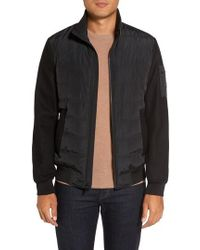 Michael Kors   Mixed Media Quilted Jacket   Lyst
