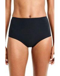 J.Crew | J.crew Pique High Waist Bikini Bottoms | Lyst