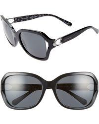 0192261f8767 COACH Hc8261 Hc/8261 544687 /tortoise Square Sunglasses 56mm in ...