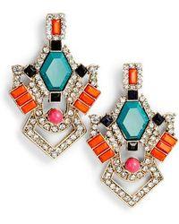 Adia Kibur - Crystal & Stone Earrings - Lyst