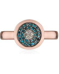 Monica Vinader - Evil Eye Diamond Ring - Lyst