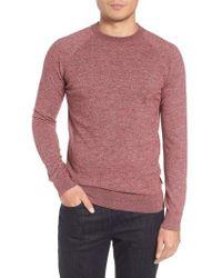 Barbour - Space Dye Crewneck Shirt - Lyst