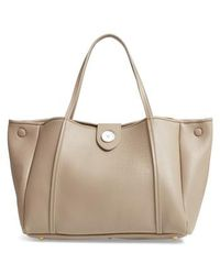 Maison Margiela - Number Embossed Leather Button Tote - Lyst