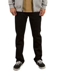 Volcom - 'solver' Straight Leg Jeans - Lyst
